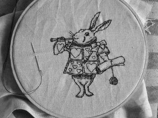W r stitched