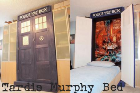 Tardis murphy bed
