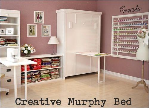 Creative murphy bed