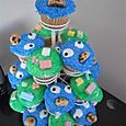 Cookie Monster & Legos